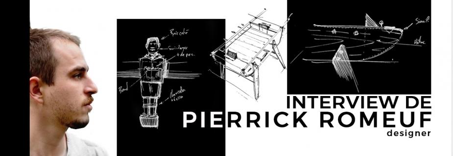 Interview Pierrick Romeuf pour Marius