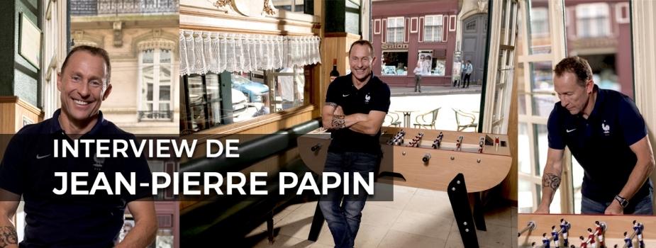 Interview Jean-Pierre Papin pour Marius